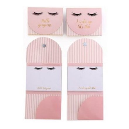 Eyelash Love Magnetic Memopad