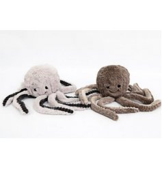 A cute little mix of fabric doorstops in an adorable Octopus shape