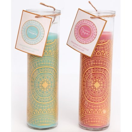Festival Life Tall Tube Candle Assortment