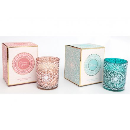 Festival Life Printed Candle Assortment