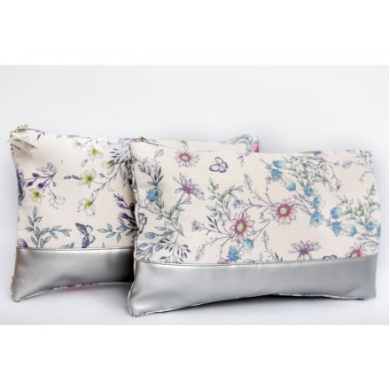 Assorted Fabric Toiletries Bags, Secret Gardens