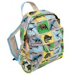 this childrens backpack is complete with padded shoulder straps for ease of use and zip up compartments