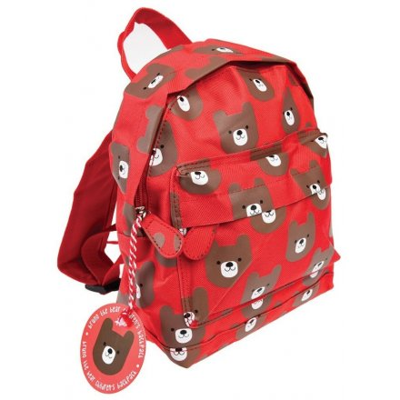 Bruno The Bear Childrens Backpack