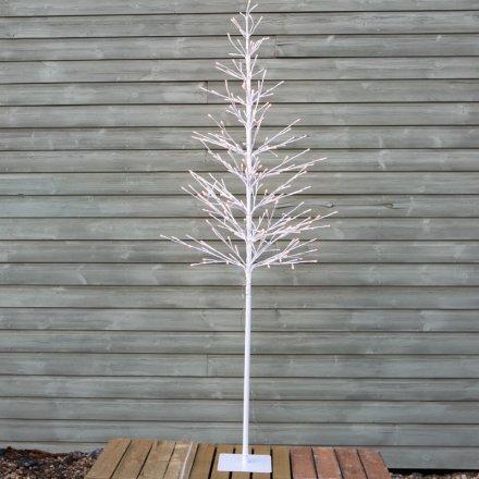 Light Up LED Twig Tree, 170cm