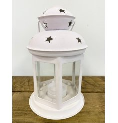 this charmingly simple hanging and standing lantern will be sure to place perfectly in any home space