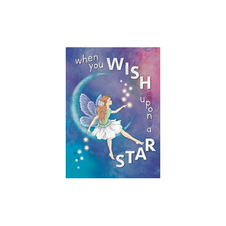 When You Wish Upon A Star Metal Sign
