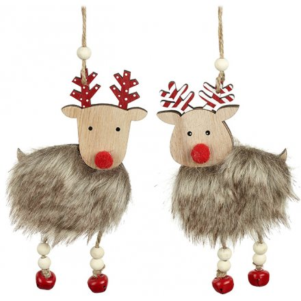 Hanging Reindeer Decorations, 2a