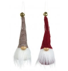 these little red and grey characters will be sure to place perfectly in any Nordic Themed Tree at Christmas