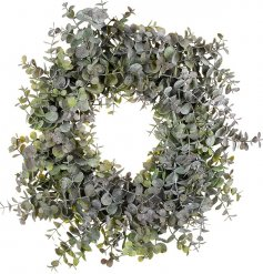 An effortlessly chic Eucalyptus wreath for your front door.