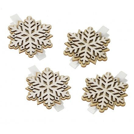 Snowflake Clips Set