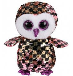 A highly tactile sequin Beanie Boo from the brand new and highly anticipated Flippable range by TY.
