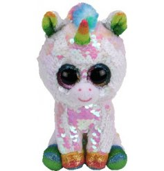 Part of the Brand New range of TY Flippables is this charmingly sparkly Pixy TY Beanie Boo