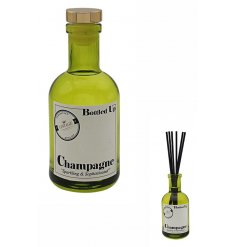 Bring a sweet and bubbly fragrance into your home with this vintage chic Bottled Up Reed Diffuser