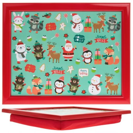 Festive Friends Christmas Lap Tray