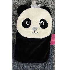 A princess panda themed water bottle, perfect for keeping warm during the cold nights!