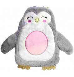 A super cute and cuddly Penguin Hot Water Bottle, perfect for getting snuggled up on those cold winter nights!