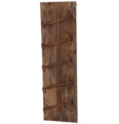 Bring a statement feature to any Dining Room or Kitchen with this Rustic Wooden Wine Rack