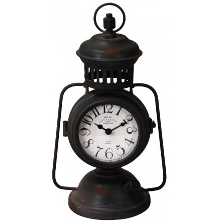 Vintage Lantern Shaped Clock