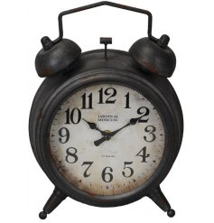 this decorative clock will be sure to place perfectly in any Vintage Luxe inspired home set ups