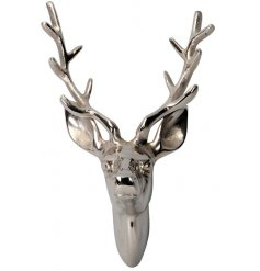 Bring a Luxe edge to your interior with this large decorative Stag Bust