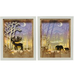 Illuminate your home at Christmas with this beautiful assortment of detailed Winter Scene Displays