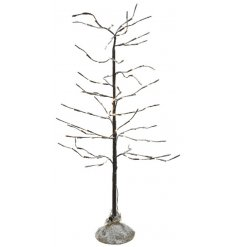 Bring a warm and comforting glow to any home interior or display set up with this frosty finished LED Twig Tree