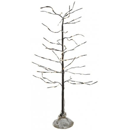 Frosted LED Twig Tree, 180cm
