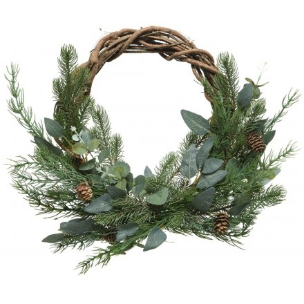 Woodland Foliage Woven Wreath