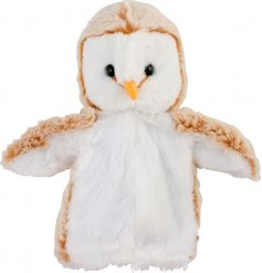This sweet little woodland critter hand puppet will be sure to make bedtime story telling more fun!