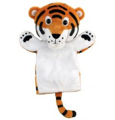 This sweet little circus animal hand puppet will be sure to make bedtime story telling more fun!