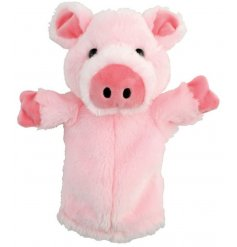 This sweet little farm yard animal hand puppet will be sure to make bedtime story telling more fun!