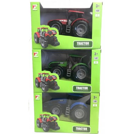 These green and blue toned tractors make great pocket money toys for any little ones!