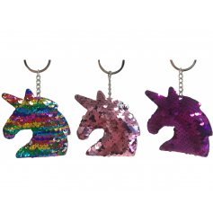 Add some sparkle to your handbag or keysets with this fabulous assortment of hanging sequin keyrings