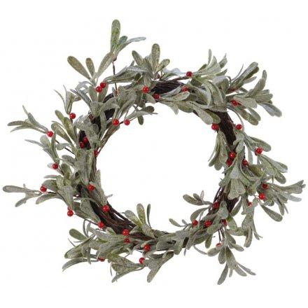 Artificial Berry Wreath