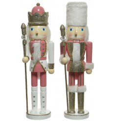 Bring sparkle to any Winter Wonderland inspired themes with this charming mix of standing Firwood Nutcrackers