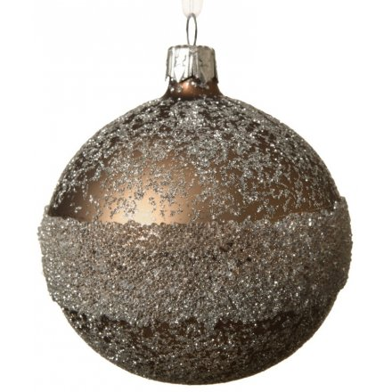 Luxe Brown Bauble