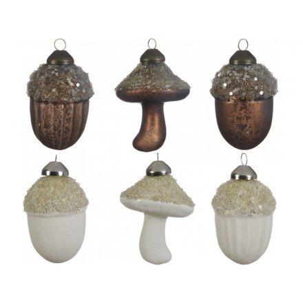 Rough Luxe Acorn/Mushroom