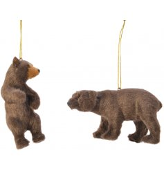 Add an adorable touch to any Winter Woodland inspired Tree display this Christmas with this sweet mix of posed bears