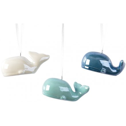 Hanging Whale Decorations