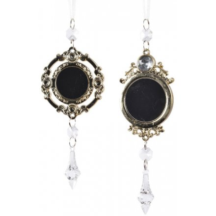 Acrylic Droplet Mirror Hangers