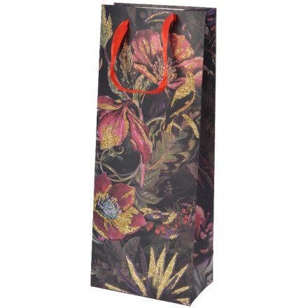 Luxury Floral Gift Bag
