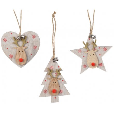 Red Reindeer Decoration, 3a