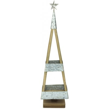 standing Tiered Triangular Display