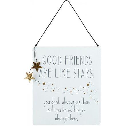 Good Friends Stars Sign