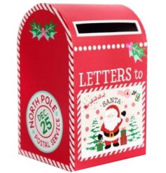 A festive themed post box just for little ones letters to Santa!