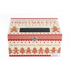 A recipe for a perfect Christmas Eve can be safely kept within this delicious looking Christmas Eve Box