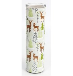 This sweetly scented wax candle tube is part of a delightful new range of Festive Homewares