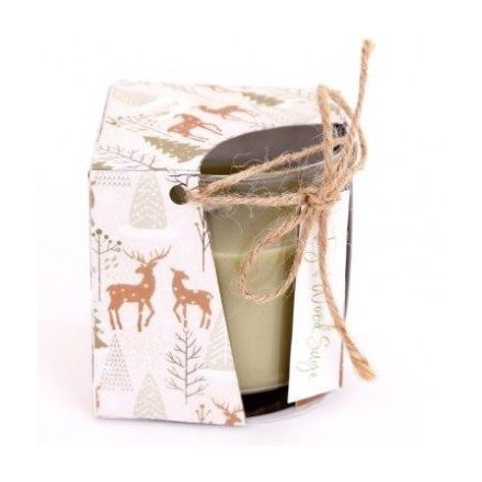 Fig And Wood Sage Filled Candle