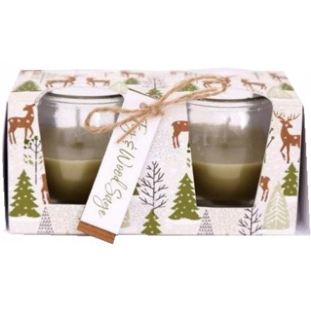 Fig And Wood Sage Scented Candle Pots