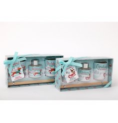 this assortment of scented gift sets with Pugs and Dachshund prints will be sure make a great gift idea